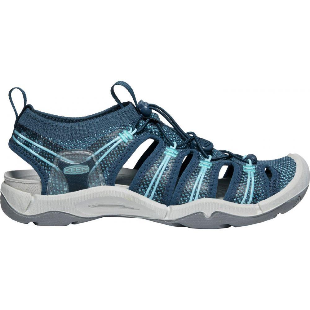 キーン Keen レディース サンダル・ミュール シューズ・靴【KEEN EVOfit One Sandals】Navy/Bright Blue