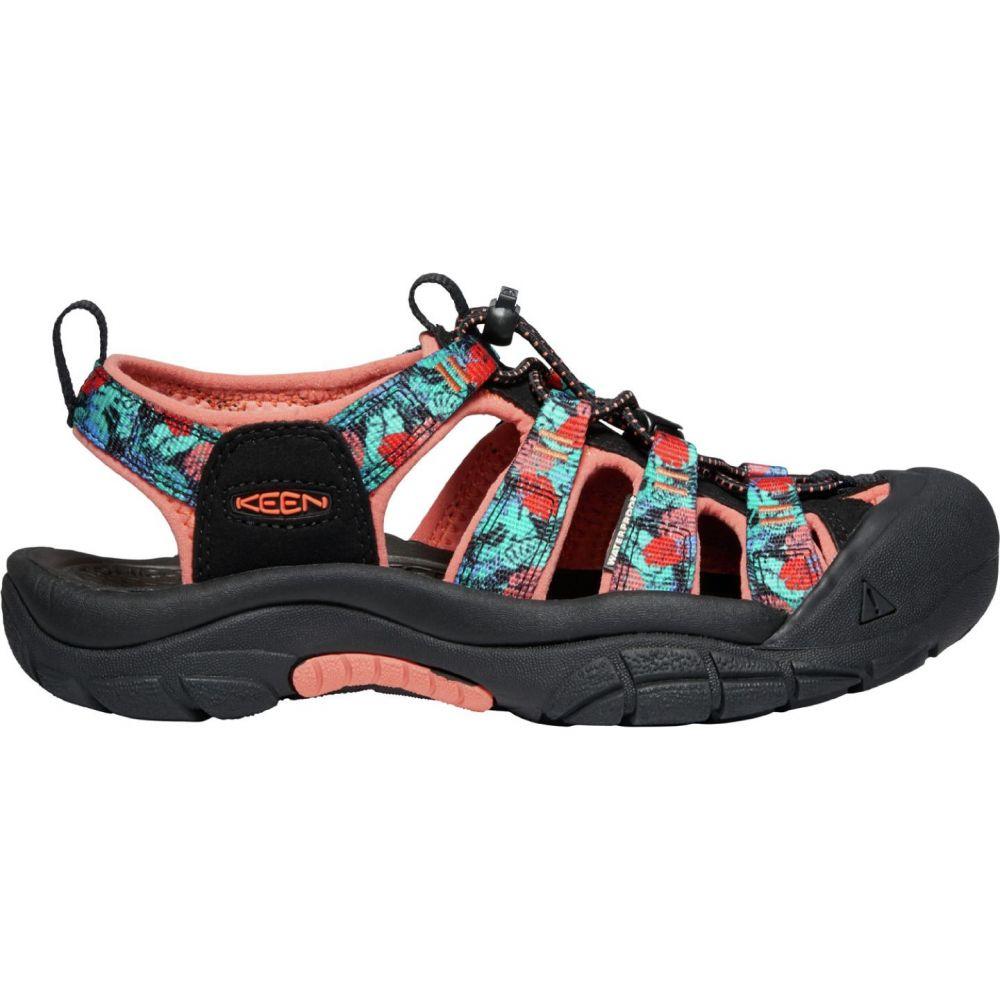 キーン Keen レディース サンダル・ミュール シューズ・靴【KEEN Newport H2 Sandals】Black/Coral