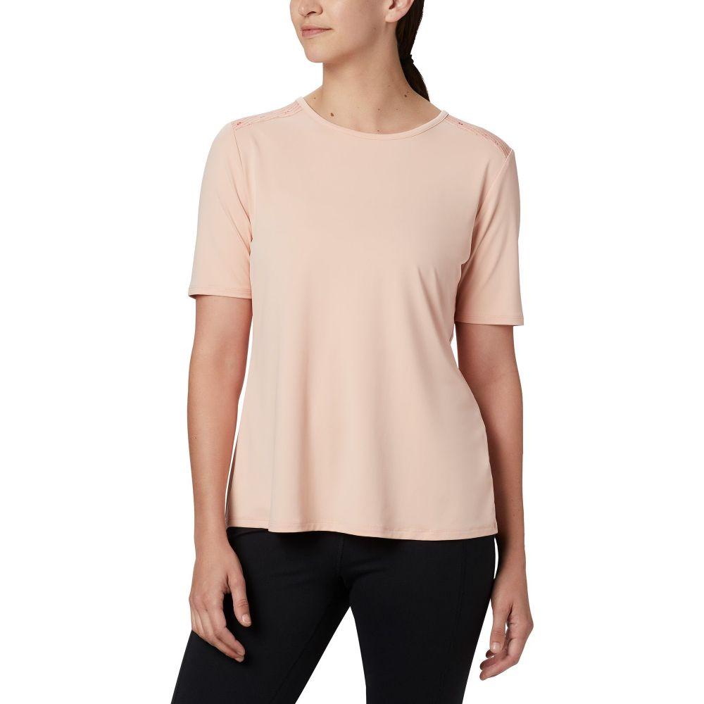 コロンビア Columbia レディース Tシャツ トップス【Chill River T-Shirt】Peach Cloud/Print