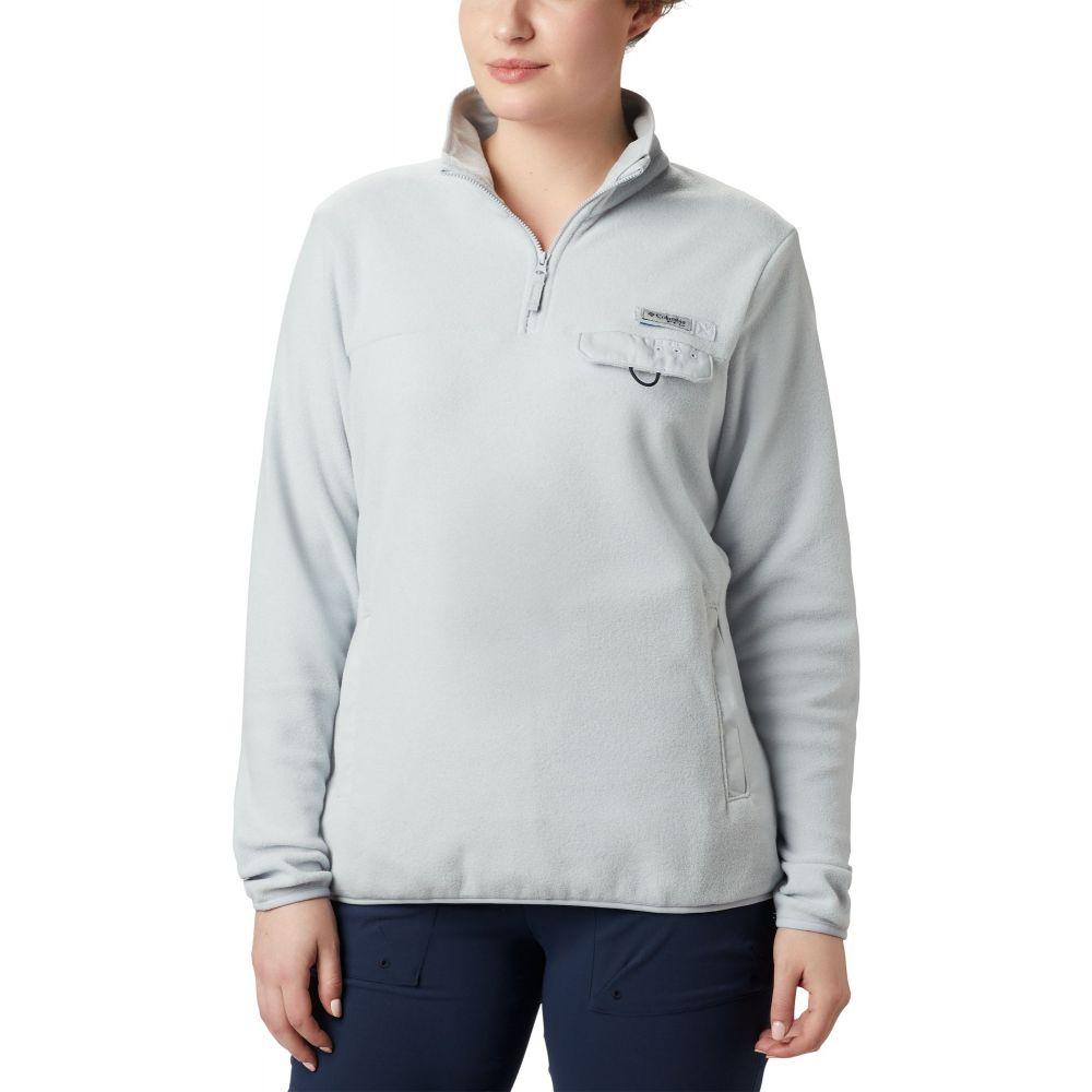コロンビア Columbia レディース フリース トップス【Harborside II Fleece Pullover】Cirrus Grey Heather