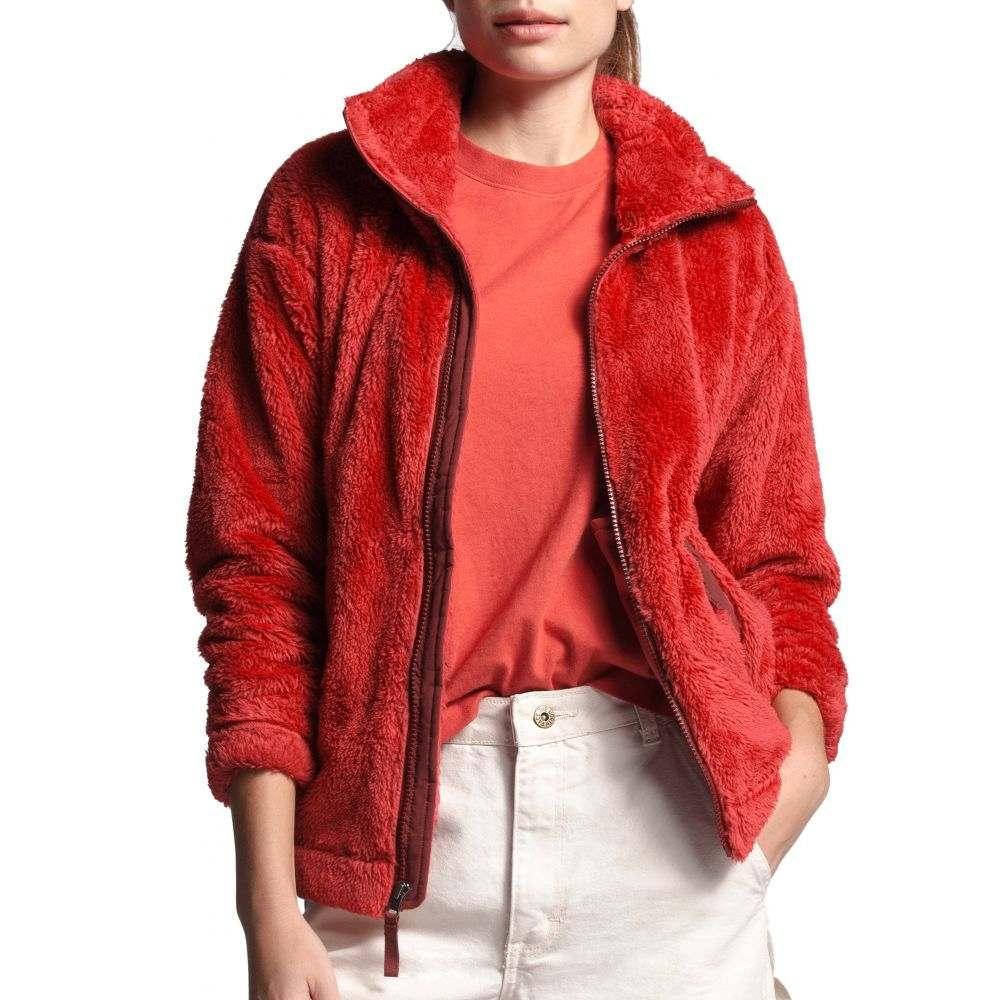 ザ ノースフェイス The North Face レディース フリース トップス【Flurry Fleece Jacket 2.0】Sunbaked Red