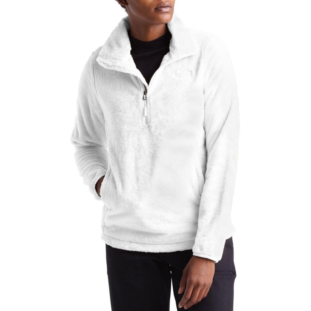 ザ ノースフェイス The North Face レディース フリース トップス【Osito 1/4 Zip Fleece Pullover】TNF White