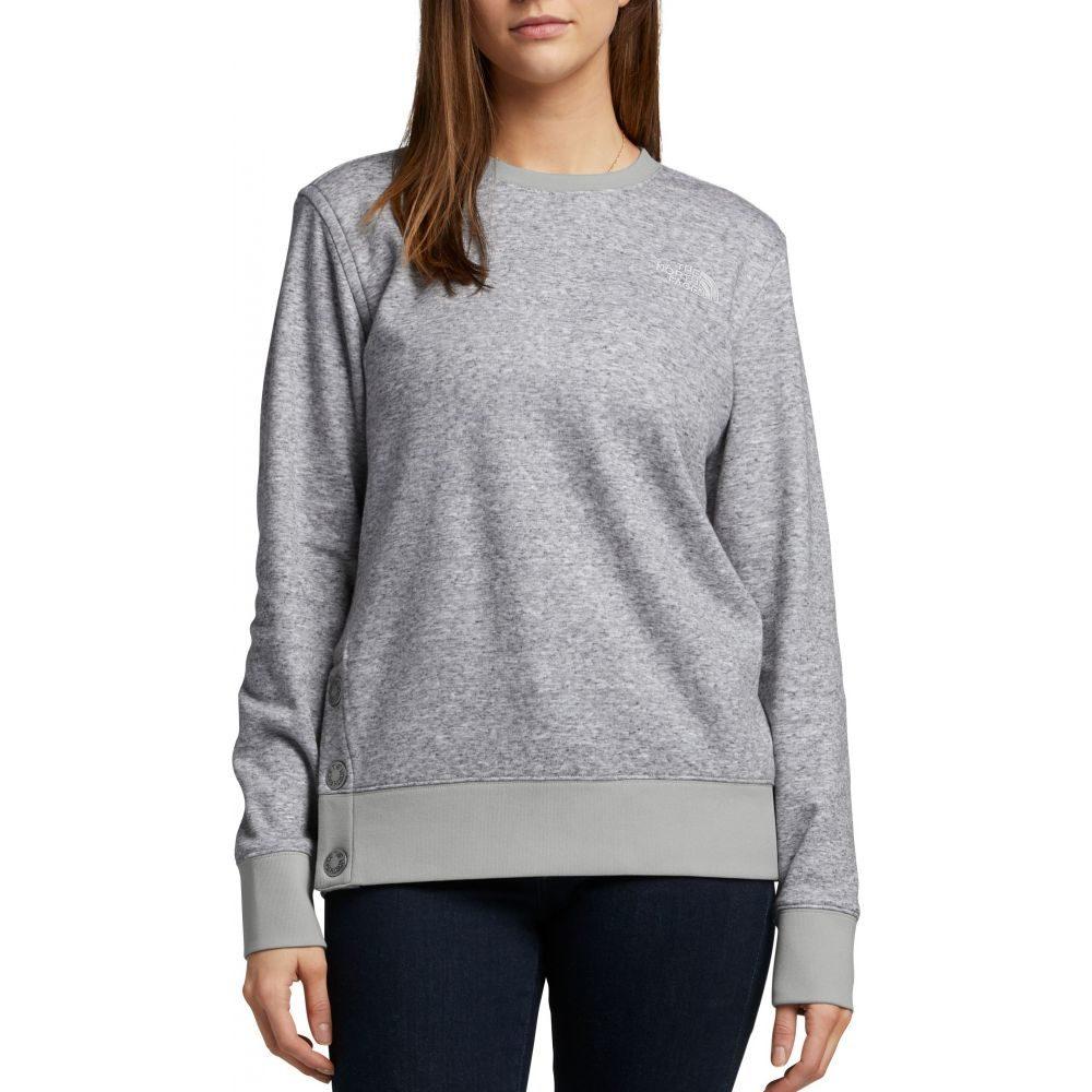 ザ ノースフェイス The North Face レディース フリース トップス【Everyday Fleece Crewneck Sweatshirt】Tnf Light Grey Heather