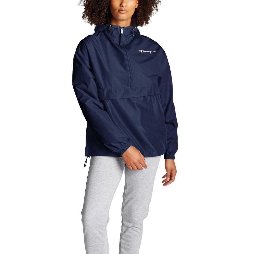 チャンピオン Champion レディース ジャケット アウター【Packable Jacket】Athletic Navy