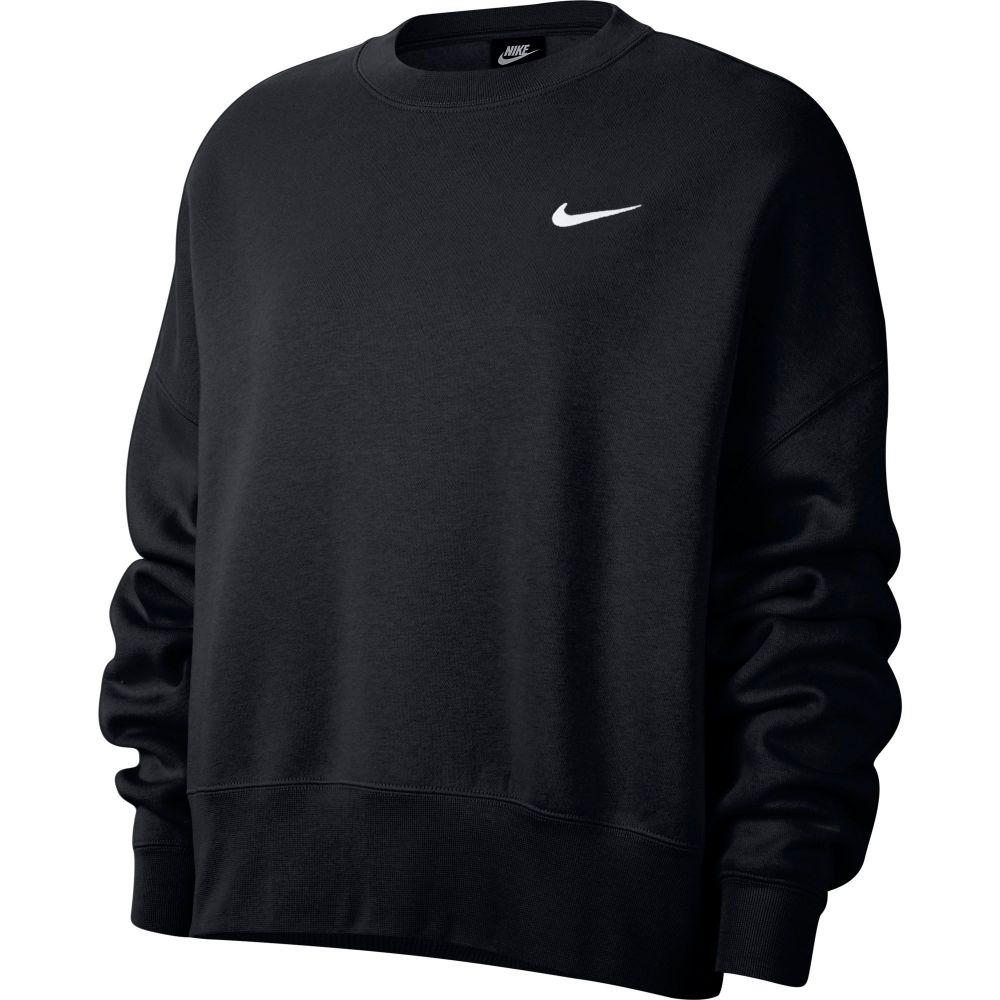 ナイキ Nike レディース フリース トップス【Sportswear Essentials Fleece Cropped Crew】Black