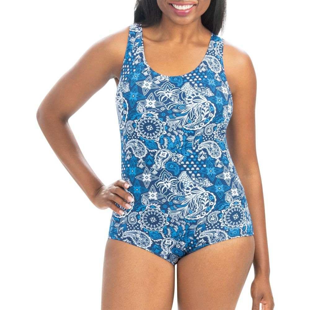 ドルフィン Dolfin レディース ワンピース 水着・ビーチウェア【Aquashape Conservative One Piece Swimsuit】Santorini