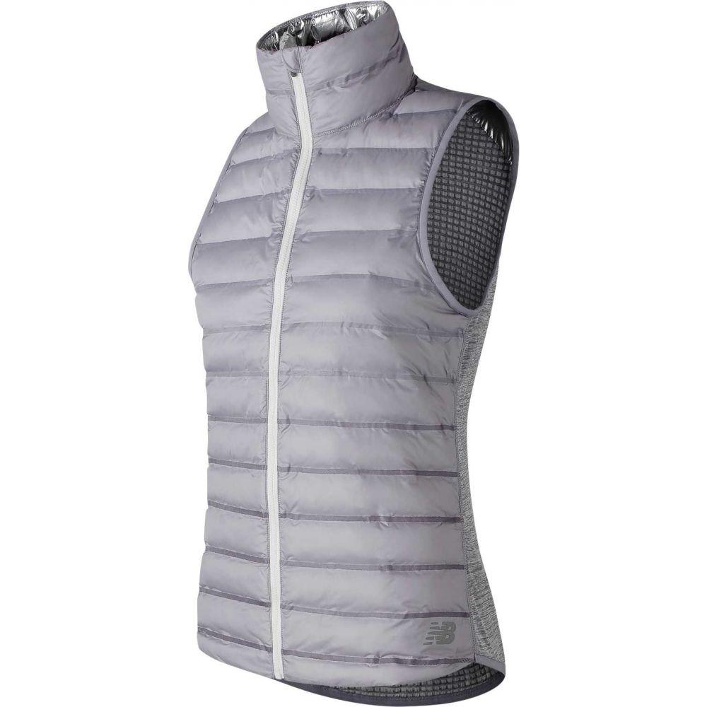 ニューバランス New Balance レディース ベスト・ジレ トップス【Radiant Heat Bonded Vest】Arctic Sky