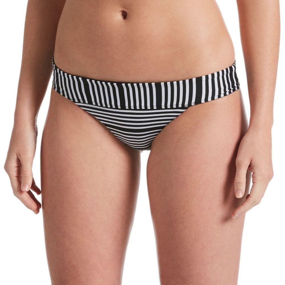 ナイキ Nike レディース ボトムのみ 水着・ビーチウェア【Mesh Reversible Banded Bikini Bottoms】Black
