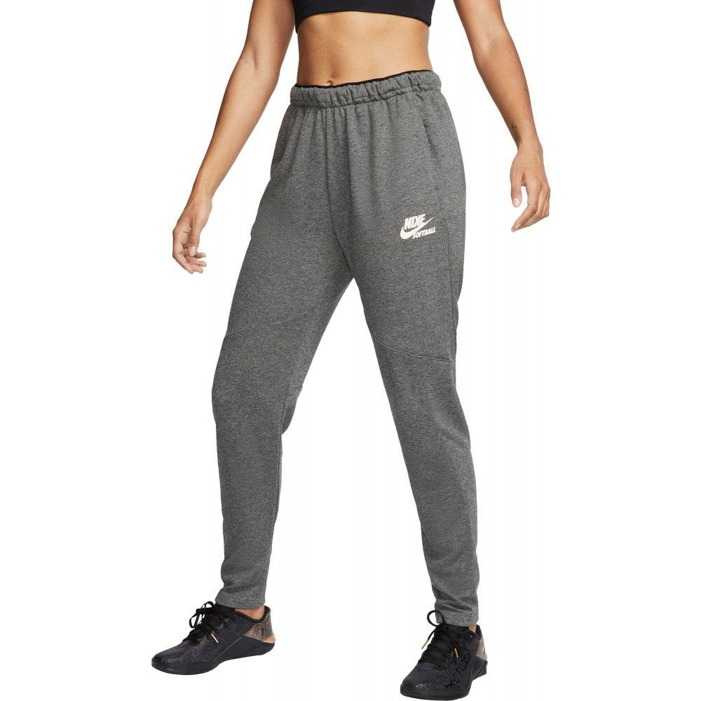 ナイキ Nike レディース ジョガーパンツ ボトムス・パンツ【Flux Softball Joggers】Chl Heathr/Pale Ivory