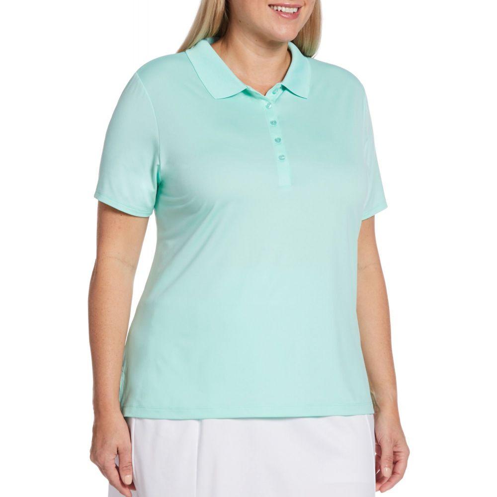 キャロウェイ Callaway レディース ゴルフ ポロシャツ トップス【Opti-Dri Golf Polo - Extended Sizes】Beach Glass