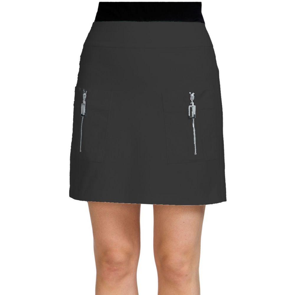 ジェイミー サドック Jamie Sadock レディース ゴルフ スカート ボトムス・パンツ【Skinnylicious 18 Golf Skort】Black