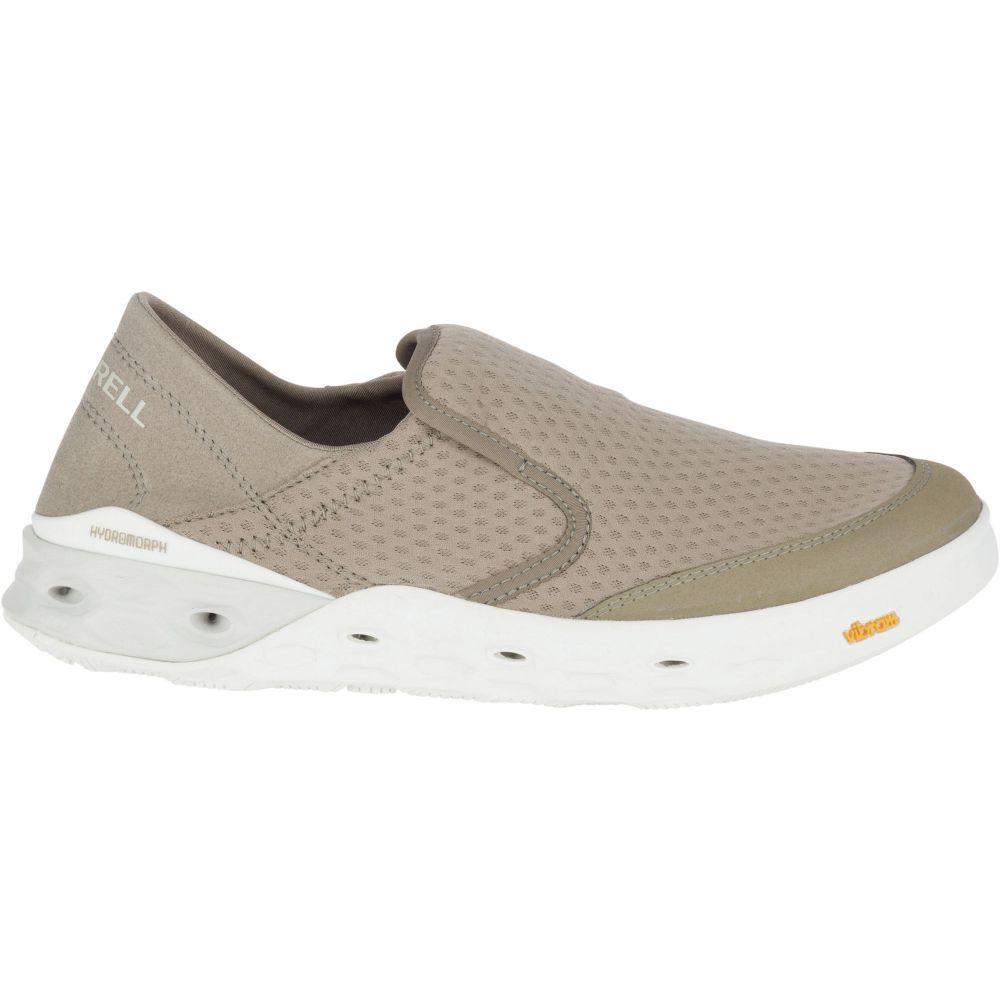 メレル Merrell レディース スリッポン・フラット シューズ・靴【Tideriser Moc Boat Shoes】Brindle