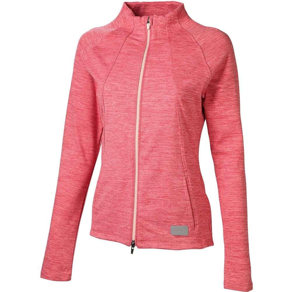 プーマ PUMA レディース ゴルフ ジャケット アウター【Warm Up Full-Zip Golf Jacket】Rapture Rose Heather