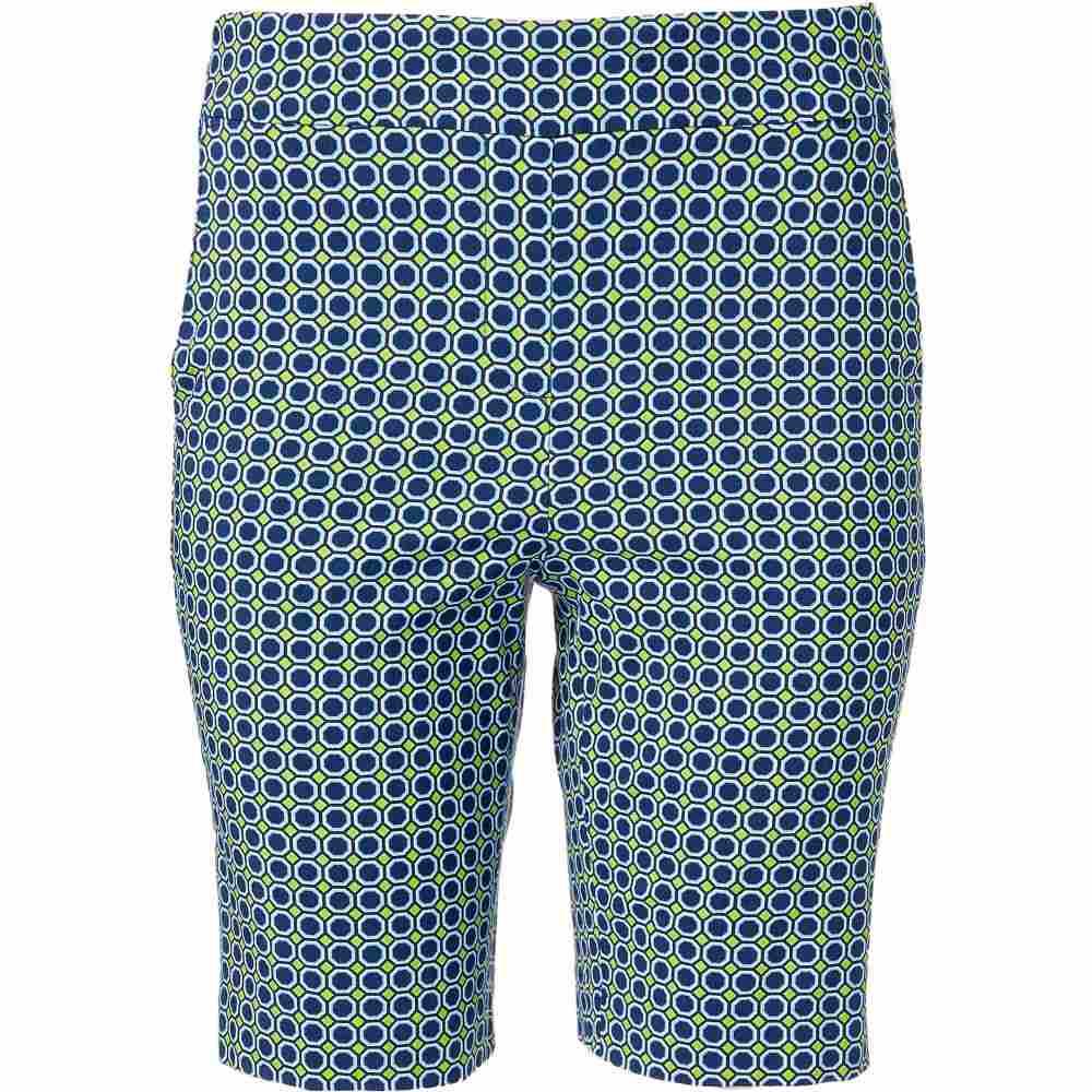 EPNY レディース ゴルフ ショートパンツ ボトムス・パンツ【EP Pro 20 Geo Print Pull On Golf Shorts】Inky Multi