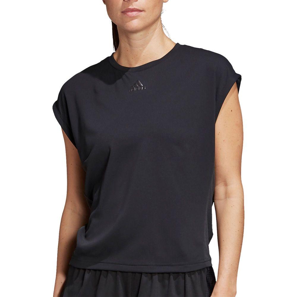 アディダス adidas レディース テニス Tシャツ トップス【Heat-RDY Tennis T-Shirt】Black