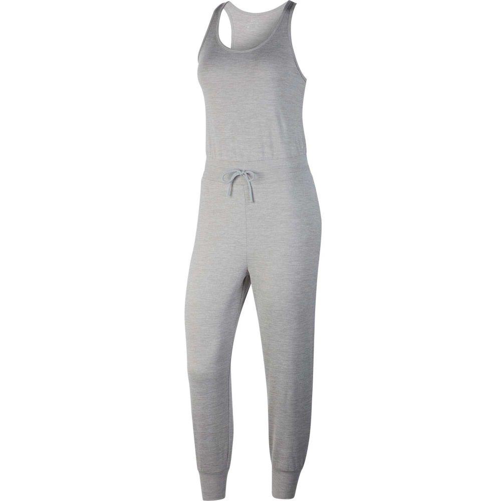 ナイキ Nike レディース ヨガ・ピラティス ジャンプスーツ オールインワン トップス【Yoga Jumpsuit】Lt Smoke Grey