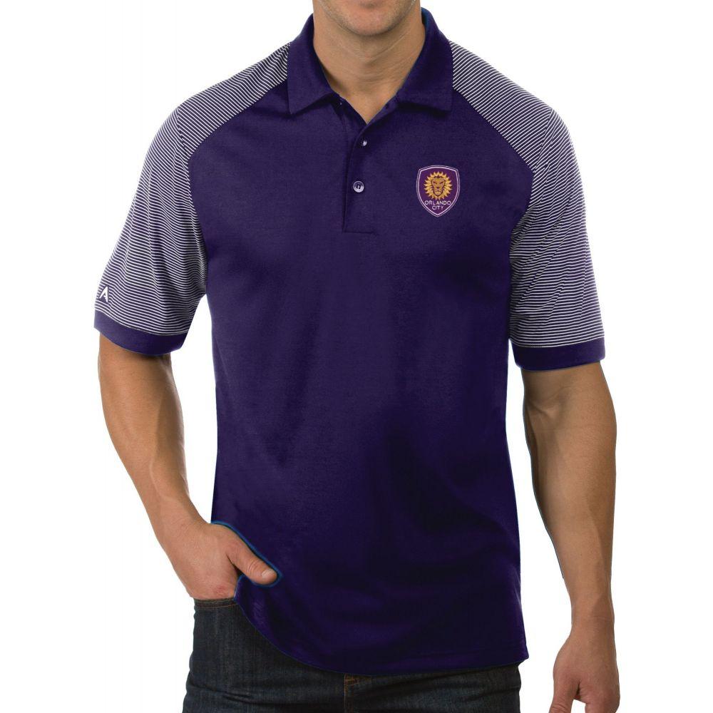 アンティグア Antigua メンズ ポロシャツ トップス【Orlando City Engage Purple Polo】