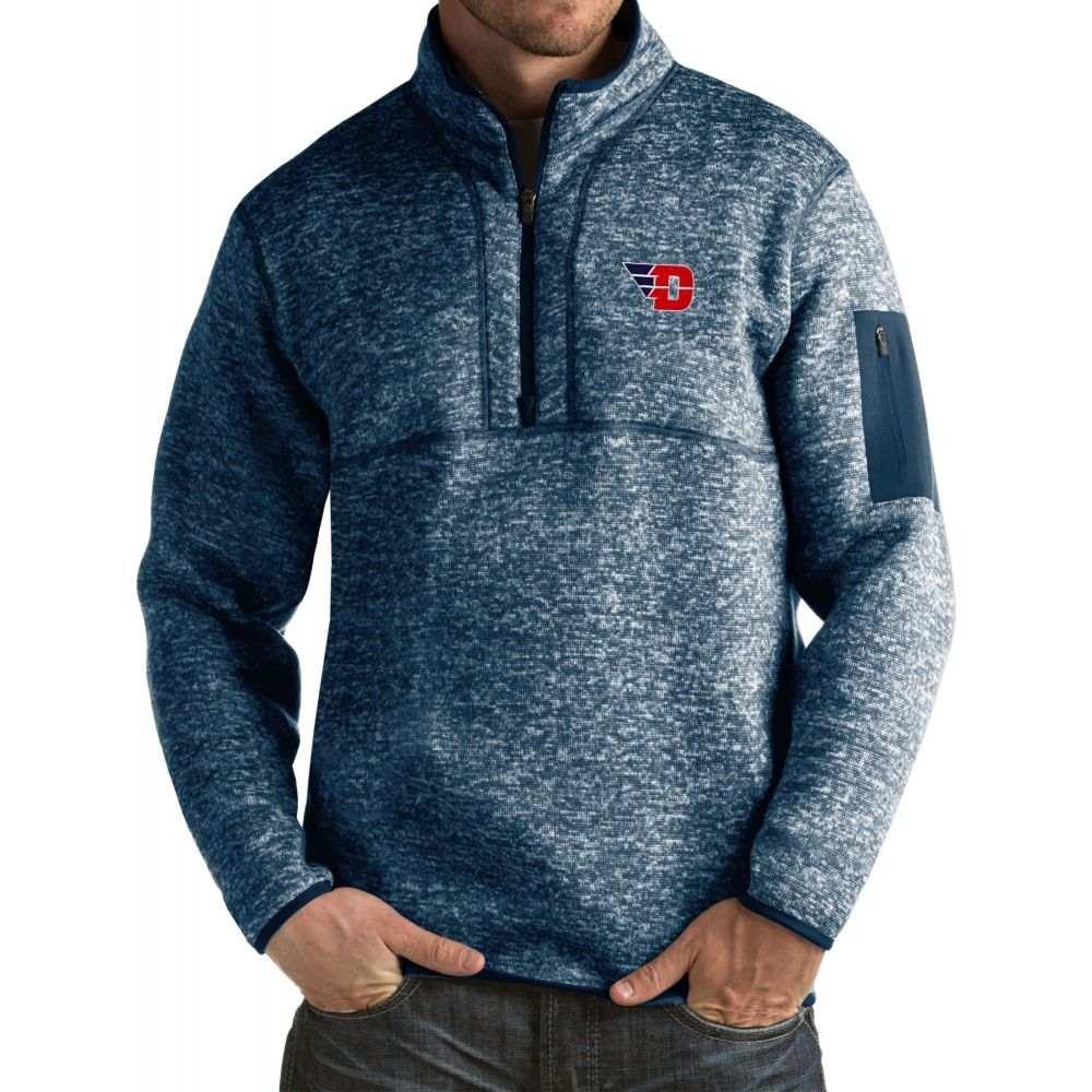 アンティグア Antigua メンズ ジャケット アウター【Dayton Flyers Blue Fortune Pullover Jacket】