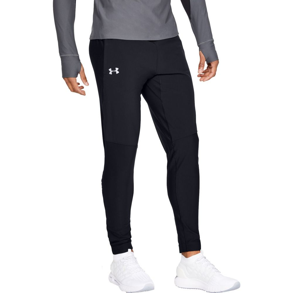 アンダーアーマー Under Armour メンズ ボトムス・パンツ 【Qualifier SpeedPocket Pants】Black/Black