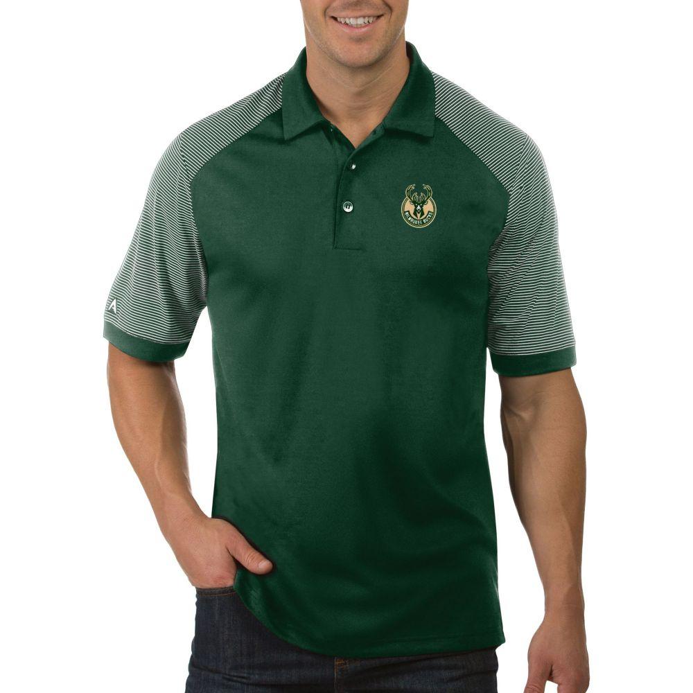 アンティグア Antigua メンズ ポロシャツ トップス【Milwaukee Bucks Engage Polo】