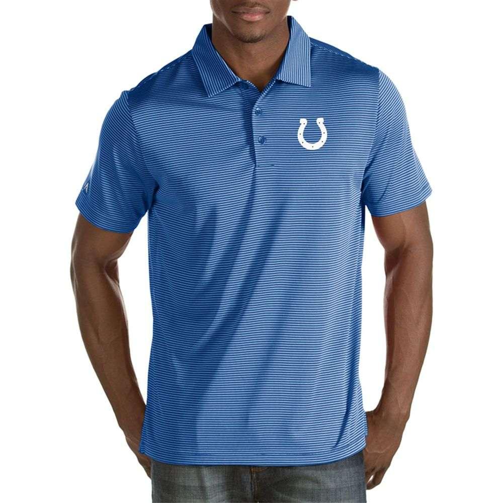 アンティグア Antigua メンズ ポロシャツ トップス【Indianapolis Colts Quest Royal Polo】