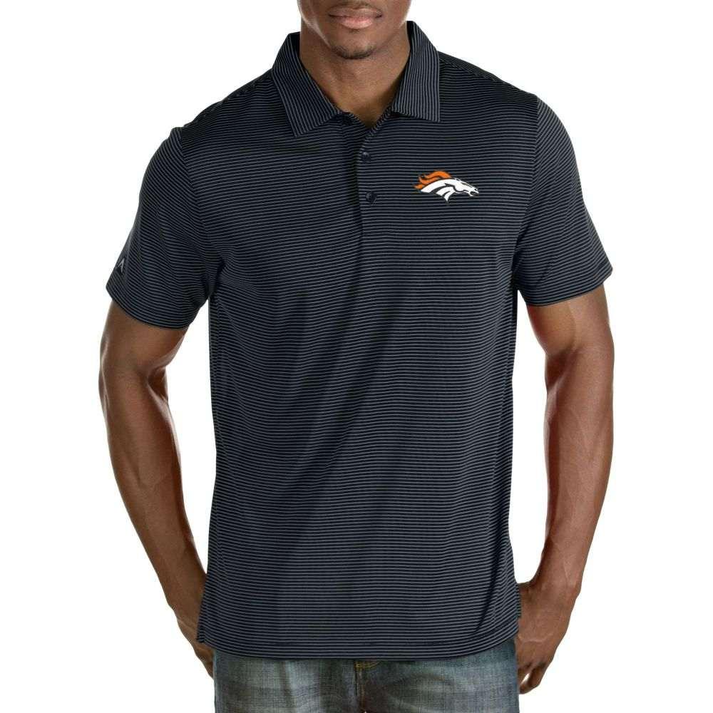 アンティグア Antigua メンズ ポロシャツ トップス【Denver Broncos Quest Navy Polo】