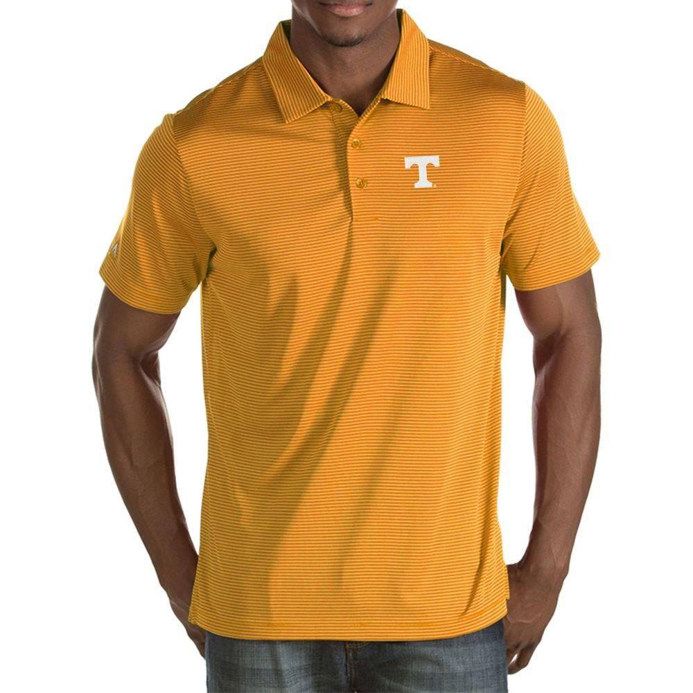アンティグア Antigua メンズ ポロシャツ トップス【Tennessee Volunteers Tennessee Orange Quest Polo】