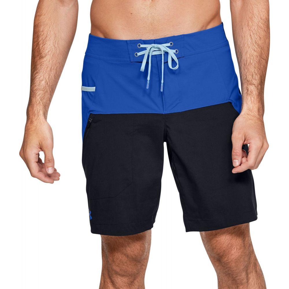 アンダーアーマー Under Armour メンズ 海パン ショートパンツ 水着・ビーチウェア【Fish Hunter Board Shorts (Regular and Big & Tall)】Versa Blue