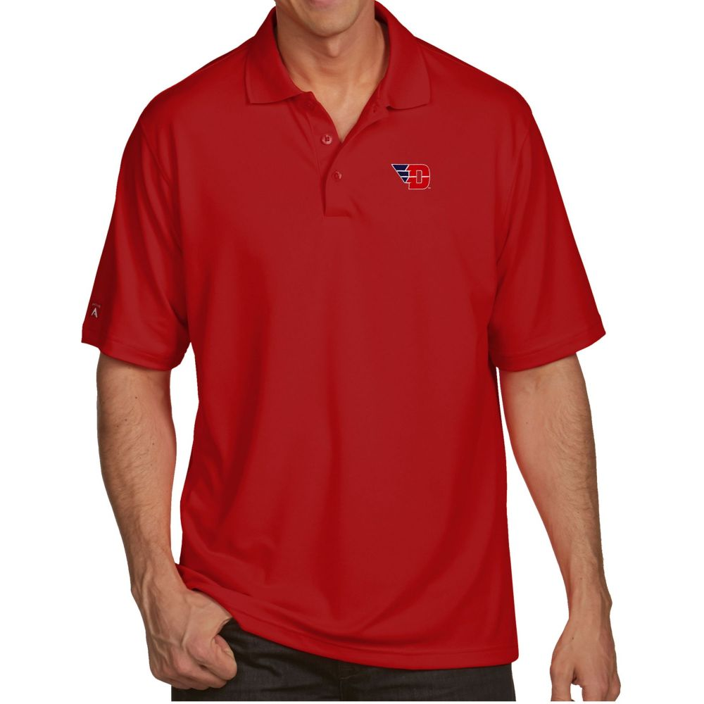 アンティグア Antigua メンズ ポロシャツ トップス【Dayton Flyers Red Pique Xtra-Lite Polo】