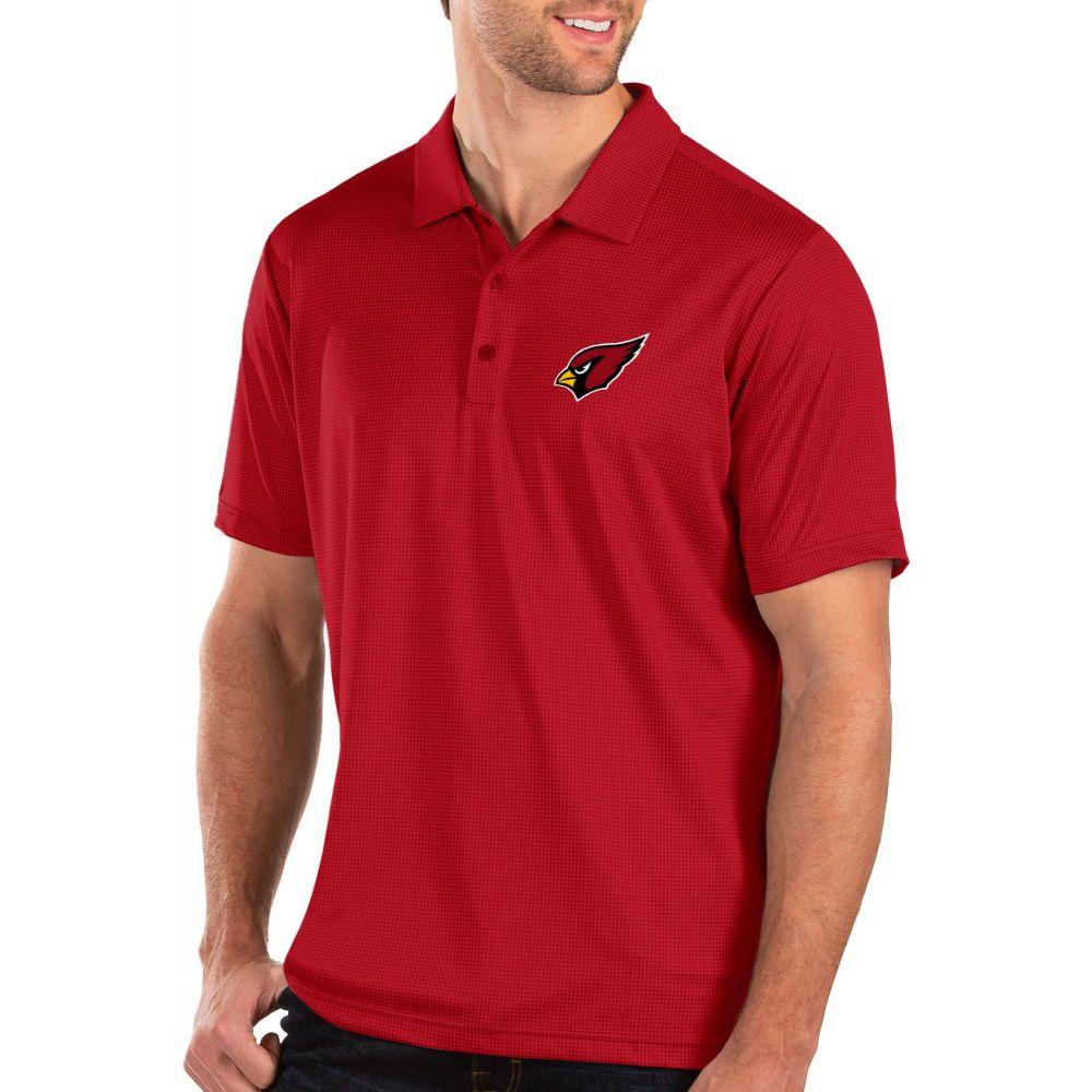 アンティグア Antigua メンズ ポロシャツ トップス【Arizona Cardinals Balance Red Polo】