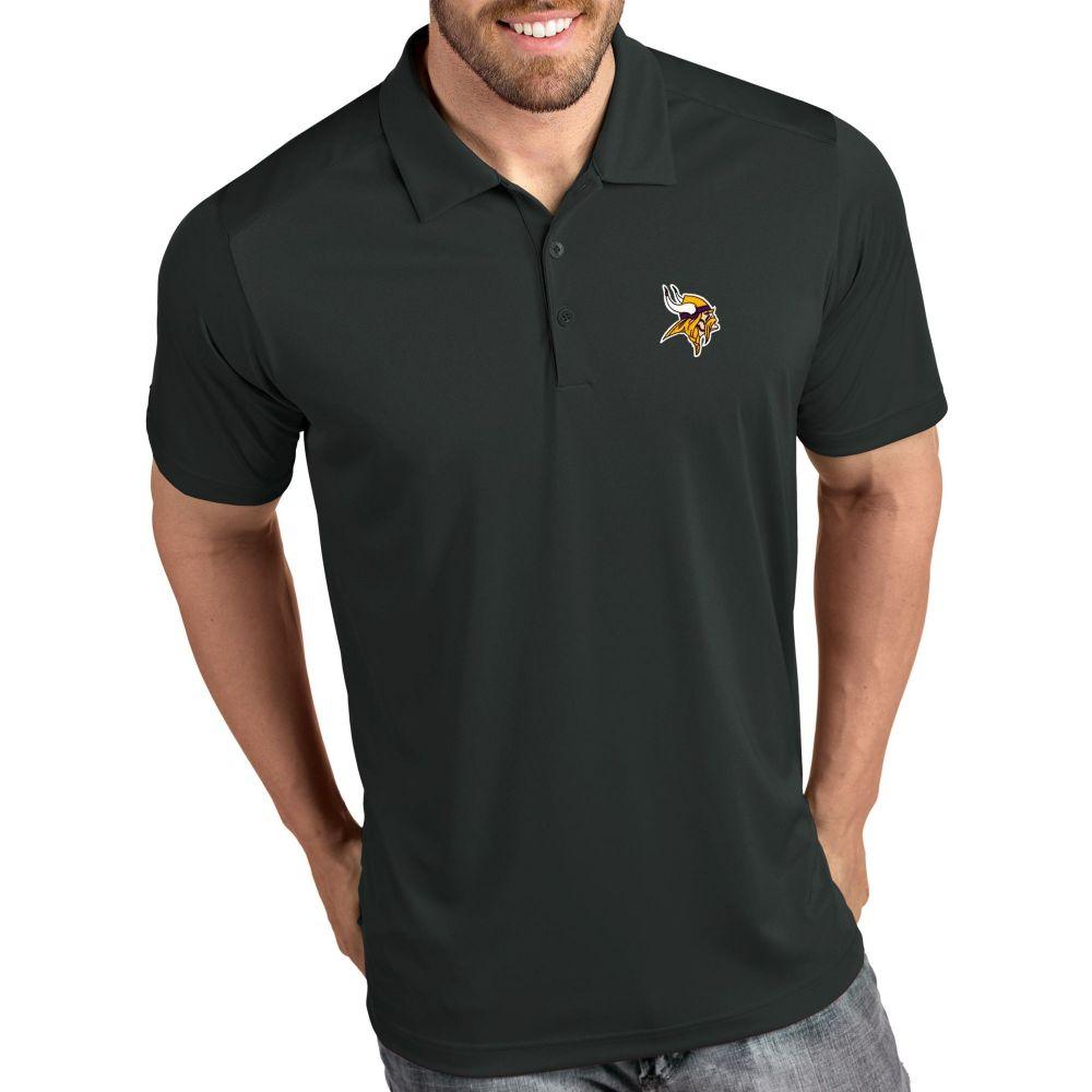 アンティグア Antigua メンズ ポロシャツ トップス【Minnesota Vikings Tribute Grey Polo】