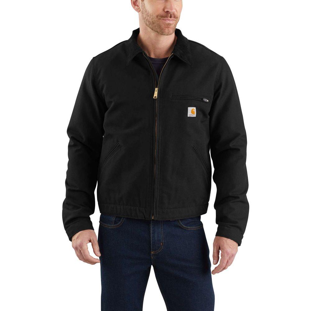 カーハート Carhartt メンズ ジャケット アウター【Washed Duck Detroit Jacket】Black