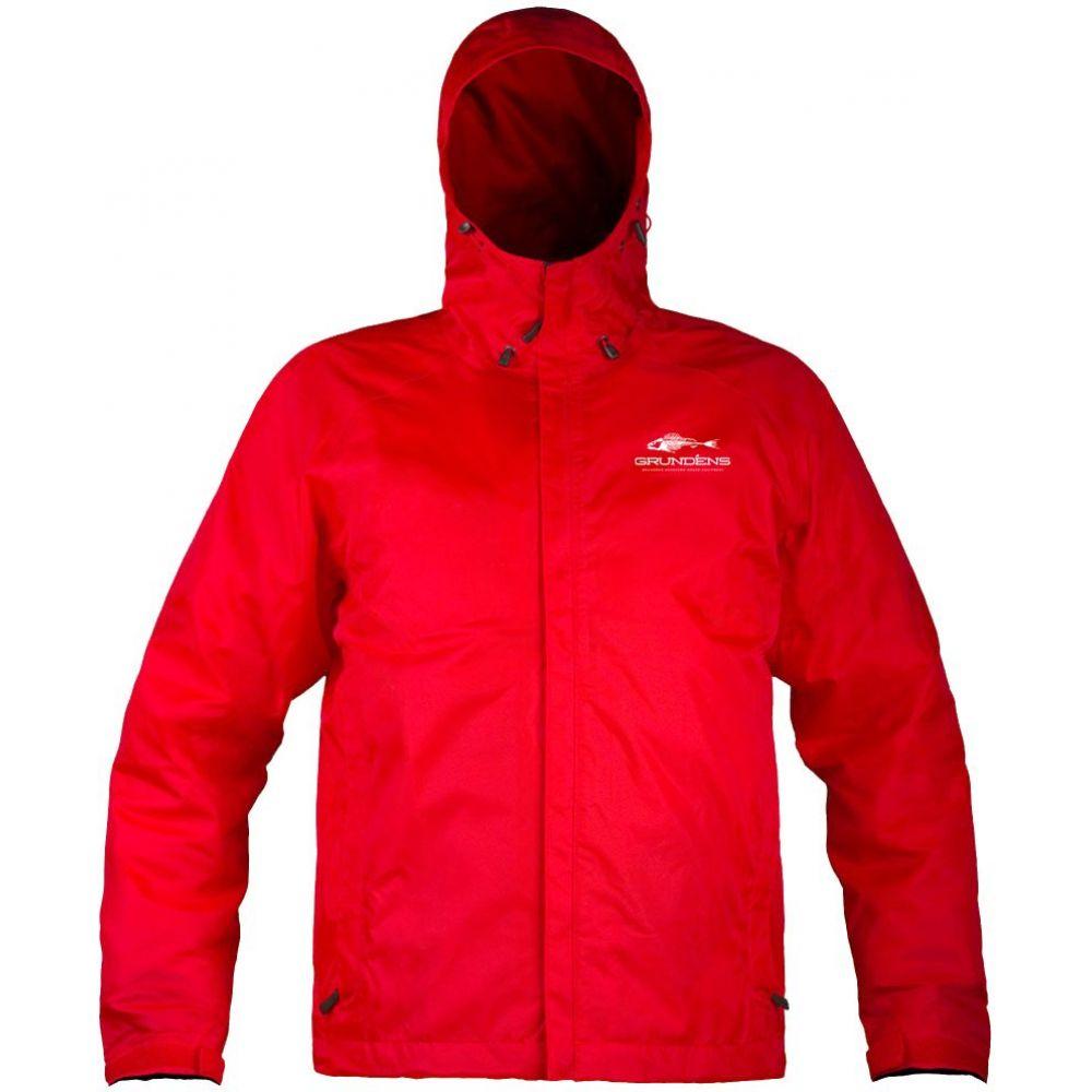 グルンデン Grundens USA メンズ ジャケット アウター【Grundens Weather Watch Full Zip Jacket】Red