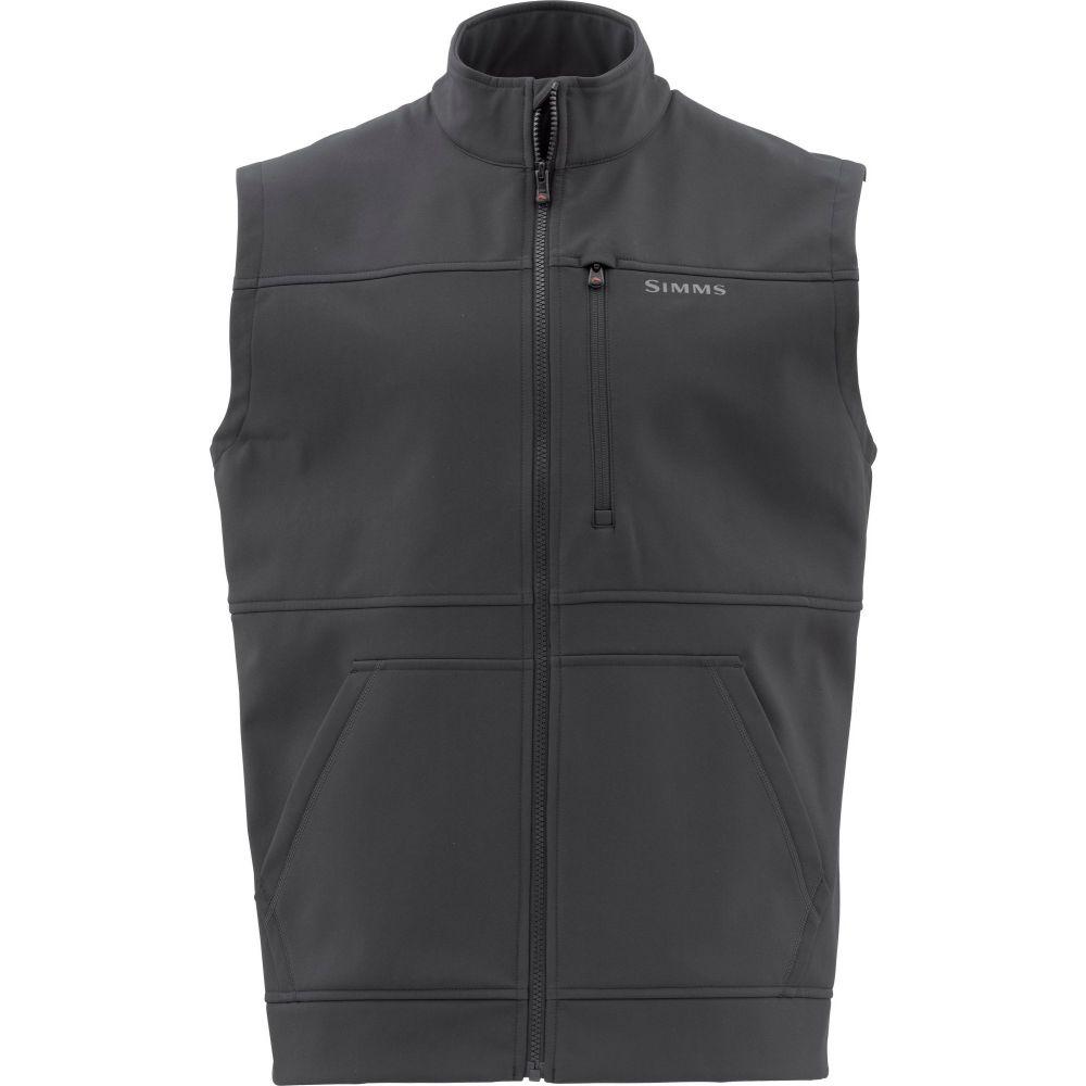 シムス Simms メンズ ベスト・ジレ トップス【Rogue Fleece Vest (Regular and Big & Tall)】Raven