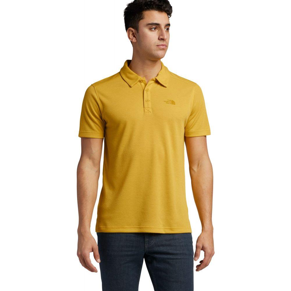 ザ ノースフェイス The North Face メンズ ポロシャツ トップス【Plaited Crag Polo Shirt】Bamboo Yellow Heather