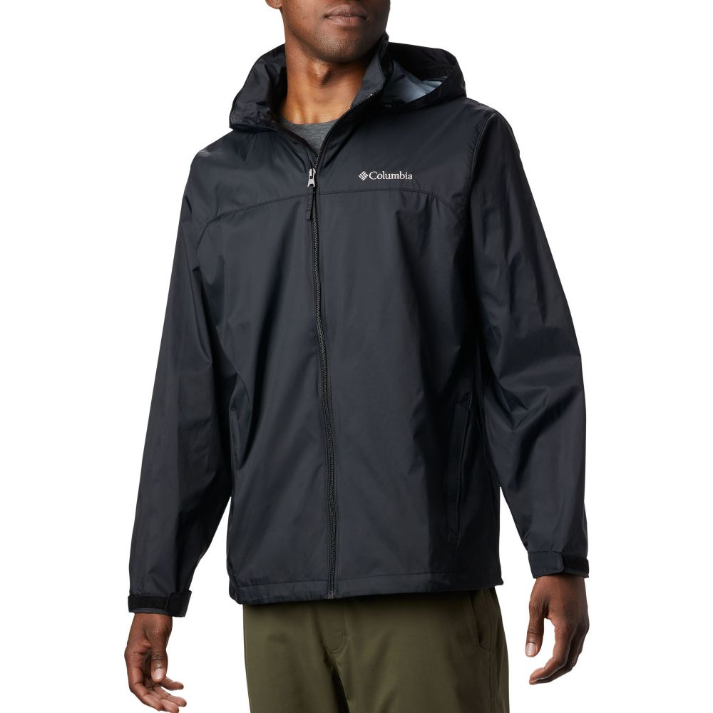 コロンビア Columbia メンズ レインコート アウター【Glennaker Lakes Rain Jacket (Regular and Big & Tall)】Black