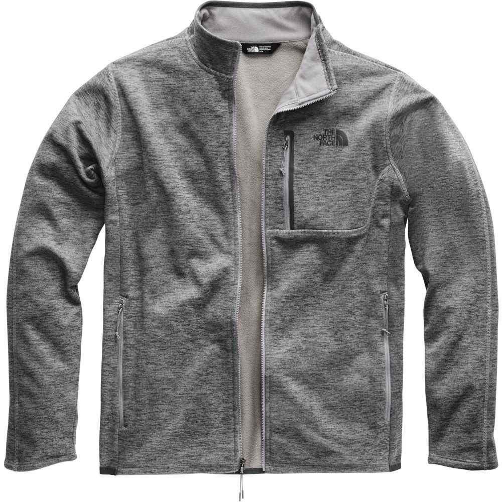 ザ ノースフェイス The North Face メンズ フリース トップス【Cynlands Full Zip Fleece Jacket】Tnf Medium Grey Heather