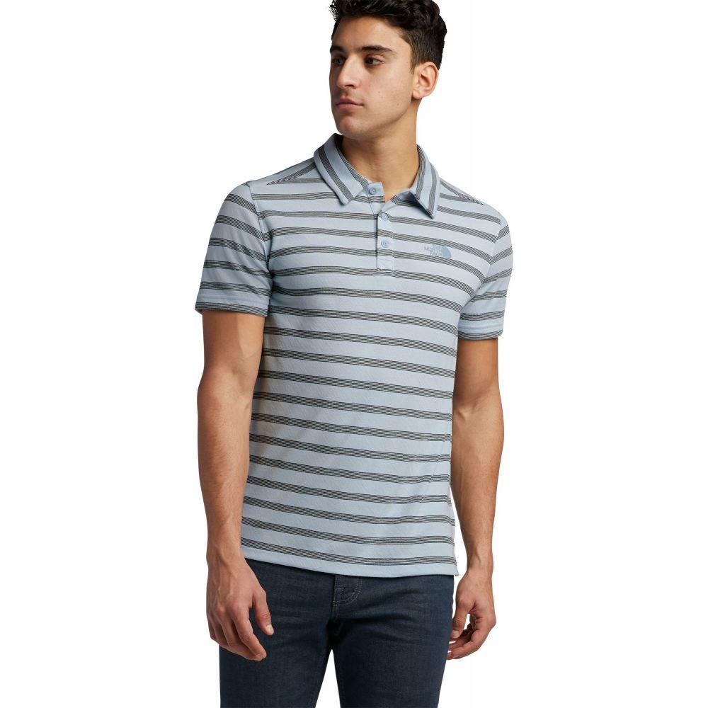 ザ ノースフェイス The North Face メンズ ポロシャツ トップス【Plaited Crag Polo Shirt】Faded Blue Stripe