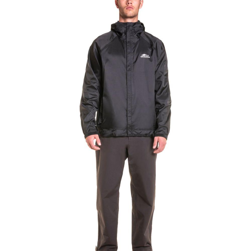 グルンデン Grundens USA メンズ ジャケット アウター【Grundens Weather Watch Jacket】Black