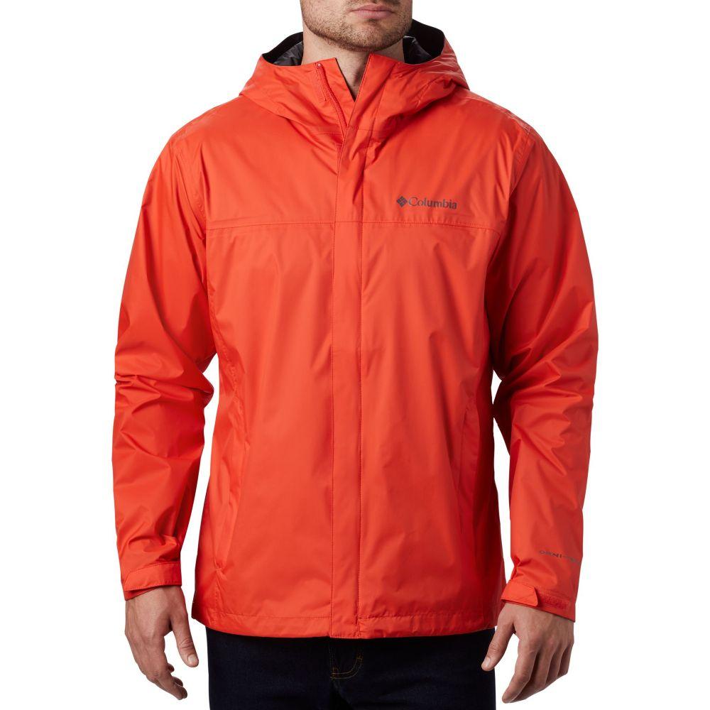 コロンビア Columbia メンズ レインコート アウター【Watertight II Rain Jacket (Regular and Big & Tall)】Wildfire