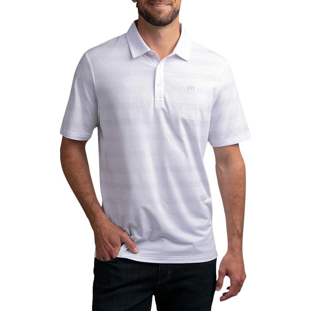 トラビスマシュー TravisMathew メンズ ポロシャツ トップス【Heater Polo Shirt】White