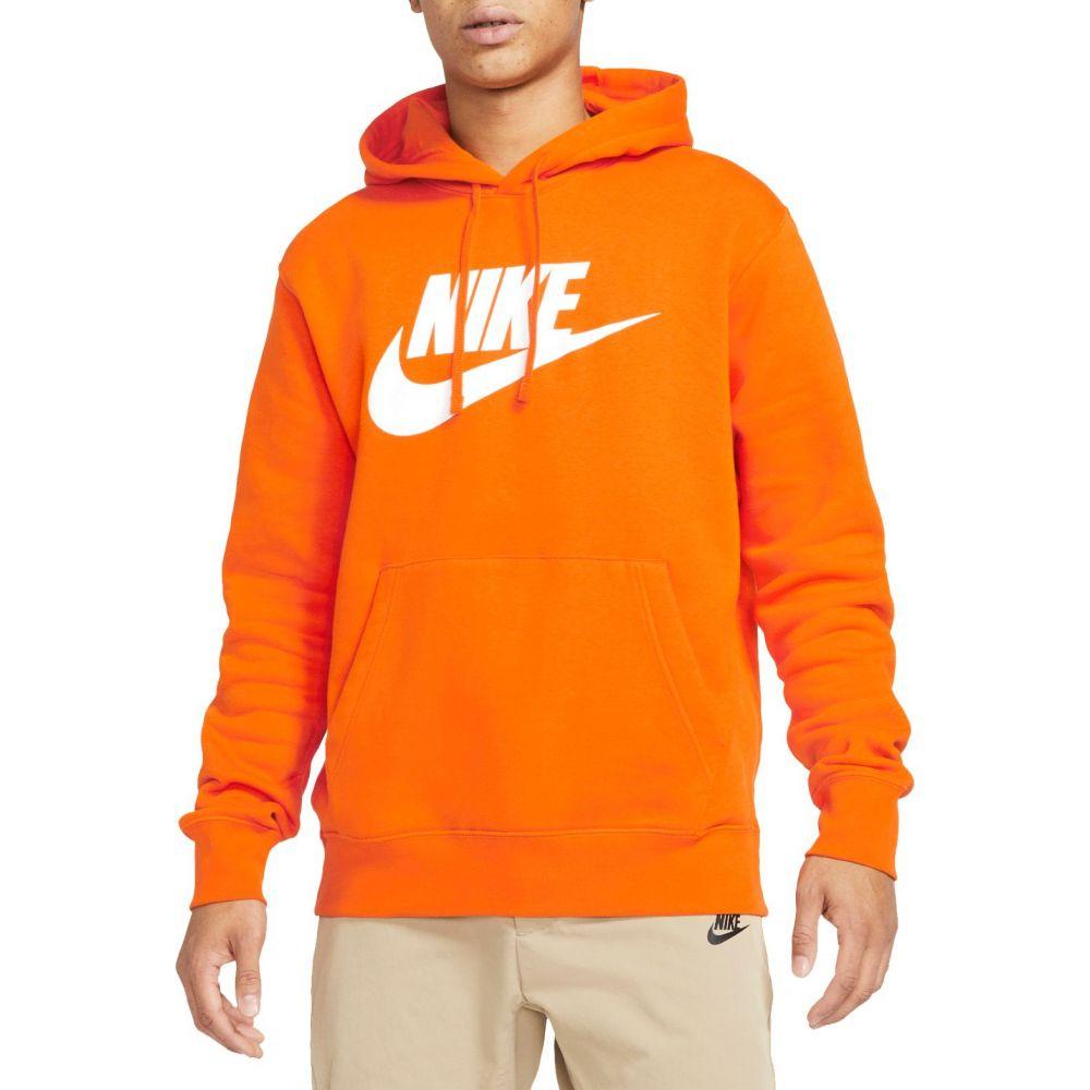 ナイキ Nike メンズ フリース トップス【Graphic Fleece Pullover Hoodie】Magma Orange/Magma Orange