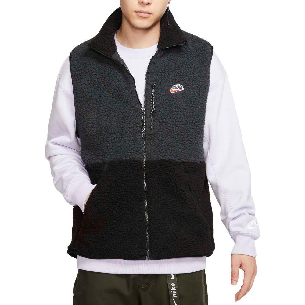 ナイキ Nike メンズ ベスト・ジレ トップス【Sportswear Fleece Winter Vest】Off Noir