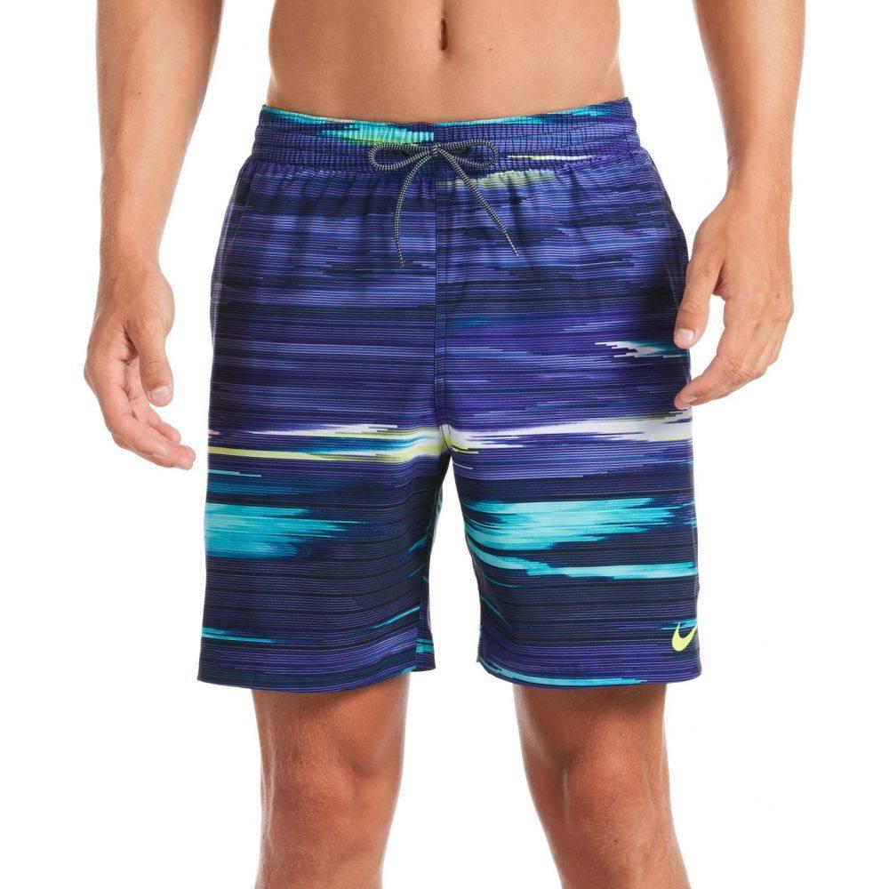 ナイキ Nike メンズ 海パン 水着・ビーチウェア【Sky Stripe Vital Volley Swim Trunks】Midnight Navy