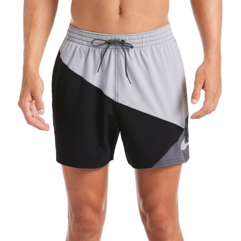 ナイキ Nike メンズ 海パン 水着・ビーチウェア【Logo Jackknife Volley Swim Trunks】Lt Smoke Grey