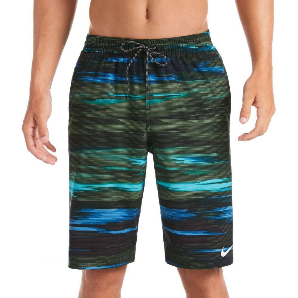 ナイキ Nike メンズ 海パン 水着・ビーチウェア【Sky Stripe Vital Volley Swim trunks】Galactic Jade