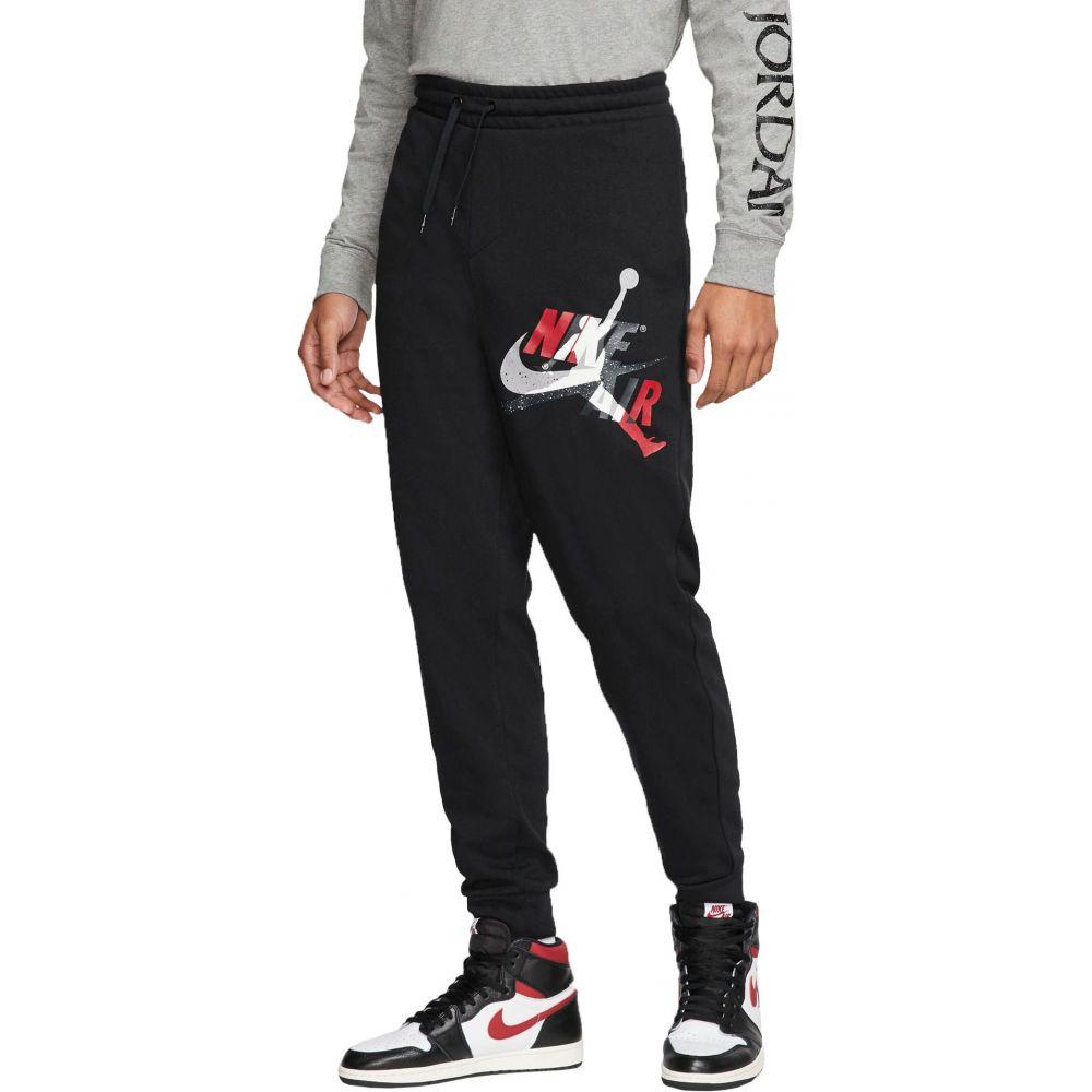 ナイキ ジョーダン Jordan メンズ ボトムス・パンツ ジャンプマン【Jumpman Classics Lightweight Fleece Pants】Black/Gym Red/White