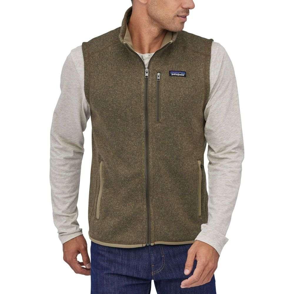パタゴニア Patagonia メンズ ベスト・ジレ トップス【Better Sweater Fleece Vest】Sage Khaki