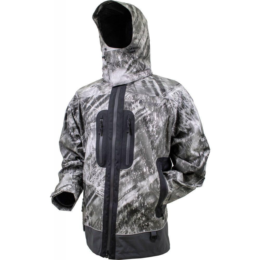フロッグトッグス frogg toggs メンズ レインコート アウター【Pilot Pro Rain Jacket (Regular and Big & Tall)】Realtree Fishing Gry/Char