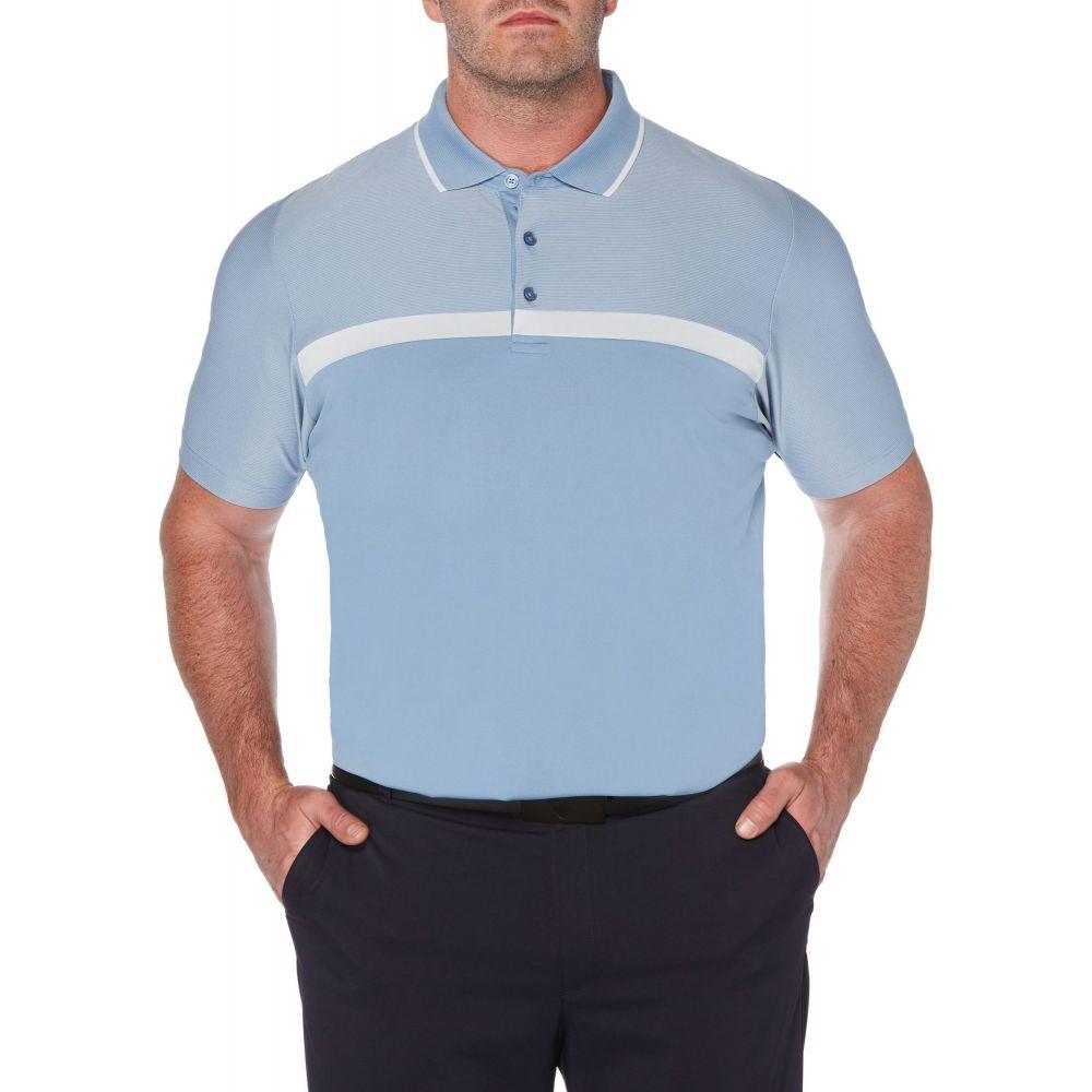 キャロウェイ Callaway メンズ ゴルフ 大きいサイズ ポロシャツ トップス【Swing-Tech Fineline Colorblock Golf Polo - Big & Tall】Infinity